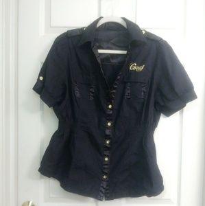 Coogi black top size 1x
